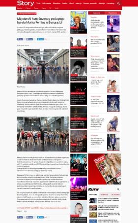 3101 - story.rs - Majstorski kurs cuvenog pedagoga baleta Marka Ferijina u Beogradu