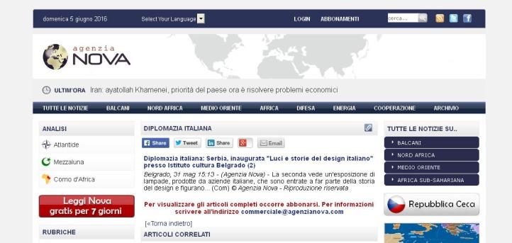 3105 - agenzianova.com - Diplomazia italiana- Serbia, inaugurata Luci e storie del design italiano presso Istituto cultura Belgrado (2)