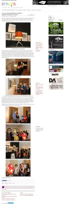 3105 - style.rs - Otvorena izlozba italijanskog dizajna u Italijanskom institutu za kulturu