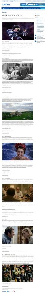 1407 - danas.rs - Filmski vodic od 14 do 20 jula