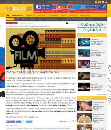 1607 - mojnovisad.com - Pocinje 23. Festival evropskog filma Palic