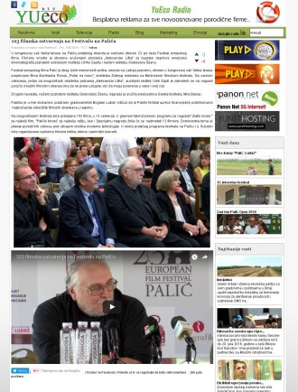 1807 - yueco.rs - 103 filmska ostvarenja na Festivalu na Palicu