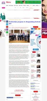 0903 - story.rs - Predstavljen program 14. Beogradskog festivala igre