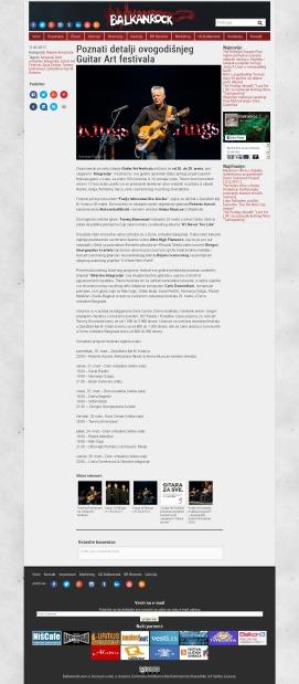 1102 - balkanrock.com - Poznati detalji ovogodisnjeg Guitar Art festivala