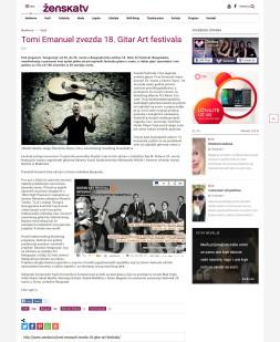 1503 - zenska.tv - Tomi Emanuel zvezda 18. Gitar Art festivala