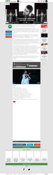 2002 - citymagazine.rs - Gostovanje italijanskih operskih umetnika