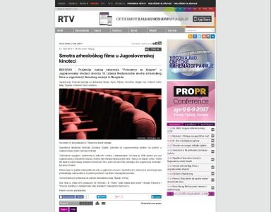 2103 - rtv.rs - Smotra arheoloskog filma u Jugoslovenskoj kinoteci
