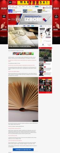 2103 - srbijadanas.com - Srbija obelezava Svetski dan poezije
