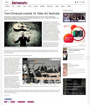 2303 - zenska.tv - Tomi Emanuel zvezda 18. Gitar Art festivala