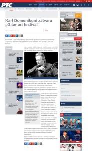 2503 - rts.rs - Karl Domenikoni zatvara Gitar art festival