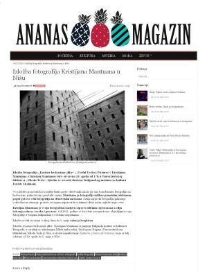 0504 - ananasmag.com - Izlozba fotografija Kristijana Mantuana u Nisu