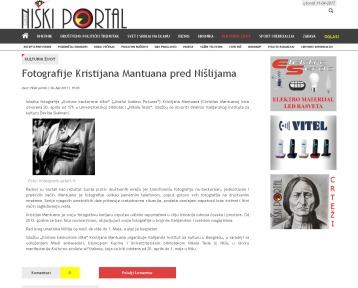 0604 - niskiportal.rs - Niski Portal Fotografije Kristijana Mantuana pred Nislijama