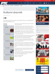 0604 - rts.rs - Kulturni dnevnik