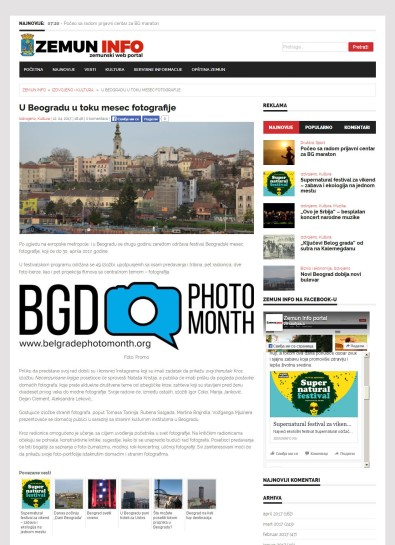 1204 - zemuninfo.rs - U Beogradu u toku mesec fotografije