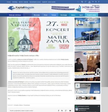 2504 - kapitalmagazin.rs - Italijanski muzicar Matija Zanata nastupa u Nisu