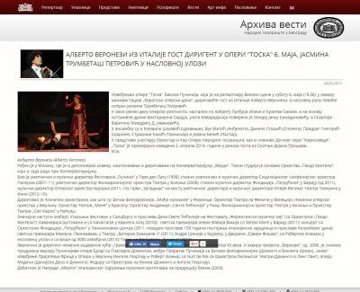 0405 - narodnopozoriste.rs - Alberto Veronezi iz Italije gost dirigent