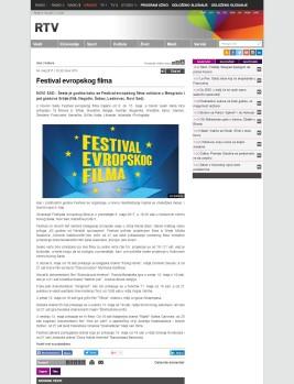 0405 - rtv.rs - Festival evropskog filma