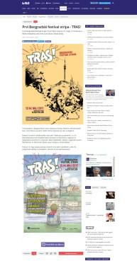 0505 - b92.net - Prvi Beogradski festival stripa - TRAS
