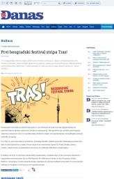 0705 - danas.rs - Prvi beogradski festival stripa Tras
