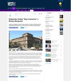 0706 - vesti-online.com - Italijanska izlozba Sjaj renesanse u Muzeju Beograda