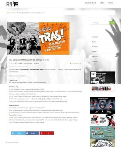1205 - remixpress.com - Prvi Beogradski festival stripa pocinje veceras