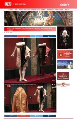 1206 - tvhram.rs - Otvorena izlozba Sjaj renesanse