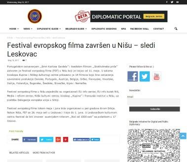 1805 - diplomaticportal.bidd.org.rs - Festival evropskog filma zavrsen u Nisu