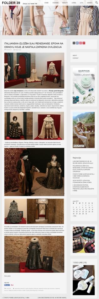 1806 - foldere39.com - ITALIJANSKA IZLOZBA SJAJ RENESANSE