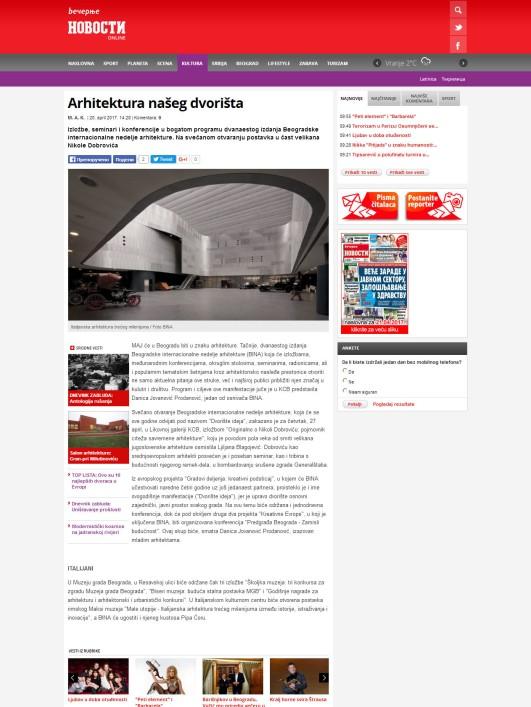 2004 - novosti.rs - Arhitektura naseg dvorista