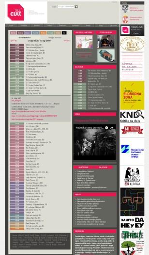 2005 - seecult.org - Kalendar dogadjaja