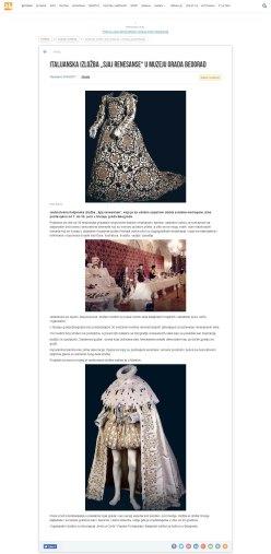 2405 - 24online.info - Italijanska izlozba Sjaj renesanse u Muzeju grada Beograd