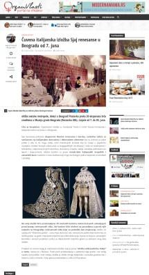 2405 - organvlasti.com - Cuvena italijanska izlozba Sjaj renesanse u Beogradu od 7. juna