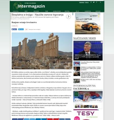 2406 - intermagazin.rs - Ranjeno secanje covecanstva