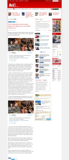 2806 - blic.rs - Poceo Beogradski festival evropske knjizevnosti- Razgovor je uvek najbolje ressnje za sve