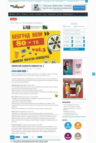 2408 - danubeogradu.rs - Cuburski park- Beograd voli osamdesete vol. 3