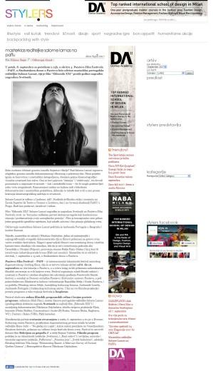 0509 - style.rs - Masterklas rediteljke Salome Lamas na PAFFu