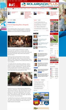 0809 - blic.rs - Festival italijanskog filma u Beogradu