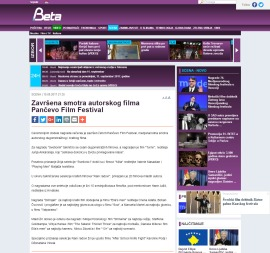 1009 - beta.rs - Zavrsena smotra autorskog filma Pancevo Film Festival