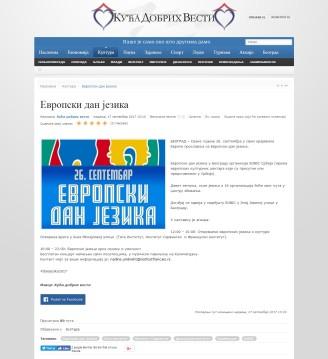 1709 - dobrevesti.rs - Evropski dan jezika