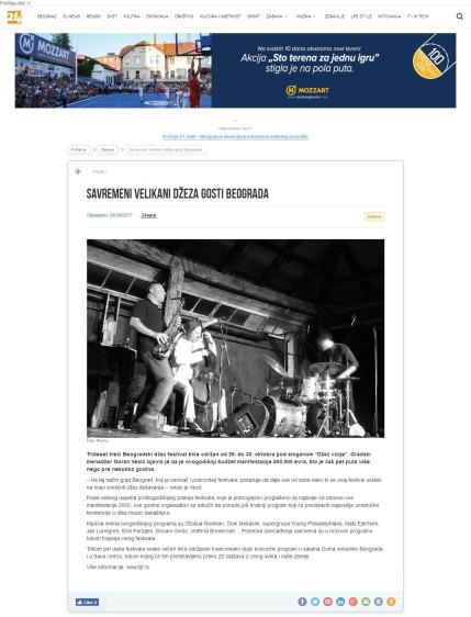 2009 - 24online.info - Savremeni velikani dzeza gosti Beograda