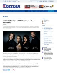 0112 - danas.rs - Gala Napolitano u Madlenijanumu 2. i 3. decembra