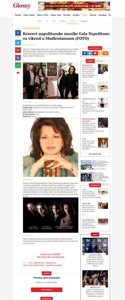 0112 - glossy.espreso.rs - Koncert napolitanske muzike Gala Napolitano za vikend u Madlenianumu