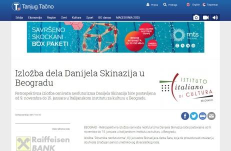 0211 - tanjug.rs - Izlozba dela Danijela Skinazija u Beogradu