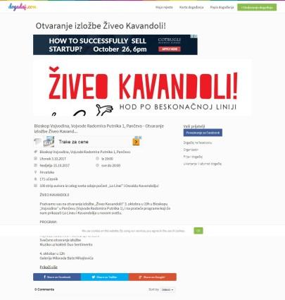 0310 - dogadjaj.com - Otvaranje izlozbe Ziveo Kavandoli