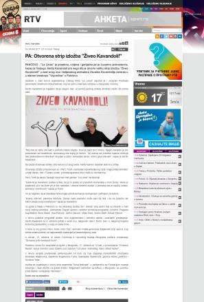 0310 - rtv.rs - PA- Otvorena strip izlozba Ziveo Kavandoli