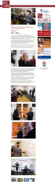 0410 - 013info.rs - Otvaranjem izlozbe Ziveo Kavandoli poceo treci Nova festiva (FOTO)