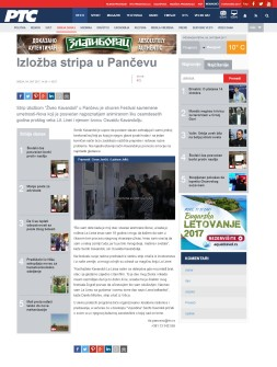 0410 - rts.rs - Izlozba stripa u Pancevu