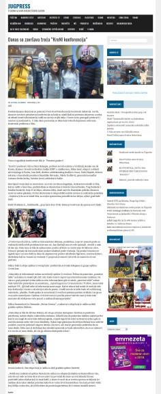 0412 - jugpress.com - Danas se zavrsava treca KreNI konferencija