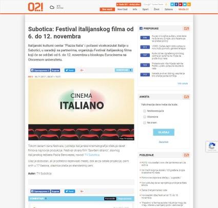 0611 - 021.rs - Subotica- Festival italijanskog filma od 6. do 12. novembra