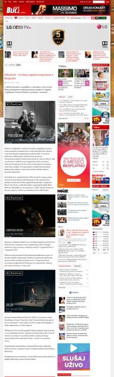 0712 - blic.rs - HFestival Tri dana angayovanog teatra u Beogradu